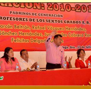 """Clausura de Fin de Curso en la Escuela Primaria """"José Ma. Morelos y Pavón"""""""