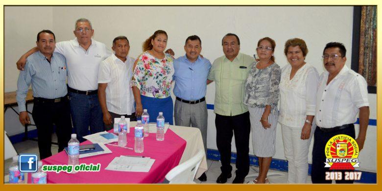 Reunión con Secretarios Generales  Seccionales de la Región Costa Chica