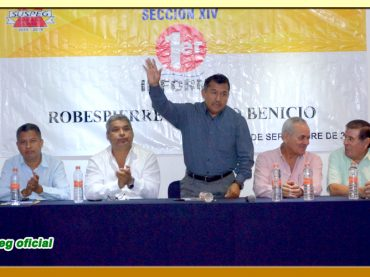 Primer Informe de Actividades del Secretario General de la Sección XIV del SUSPEG