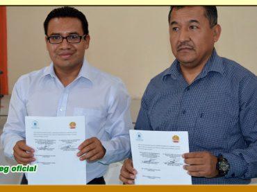 Firma del Convenio de Colaboración entre el ITAIGro y el SUSPEG