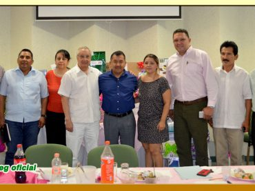 Festejo del Día del Servidor Público en la Sección LVII del SUSPEG