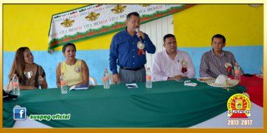 Festejo del Día del Servidor Público en la Sección XXXVIII del SUSPEG