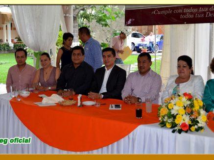 Festejo del día del Servidor Público en la Sección LV del SUSPEG