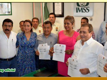 Convenio de Colaboración entre el IMSS y el SUSPEG