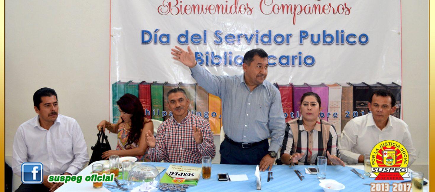 Festejo del Día del Servidor Público Bibliotecario en la Sección XXIX del SUSPEG