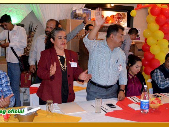 Festejo del Día del Servidor Público en la Sección L del SUSPEG.