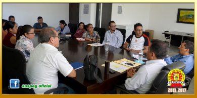 Reunión con la Secretaria General de la Sección LXVI del SUSPEG