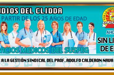 Estudios del CLIDDA 2016 sin límites de edad