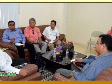 Audiencia a los Secretarios Generales Seccionales de la Región Norte del Estado