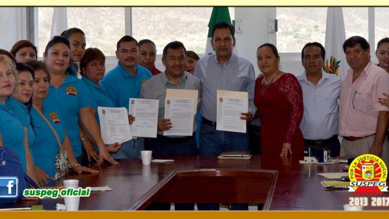 Entrega del Pliego Petitorio 2017 al Presidente Municipal de Eduardo Neri (Zumpango del Rio)