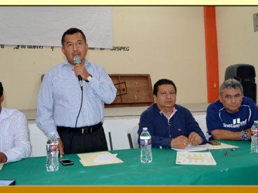 Segunda Reunión de Pleno con los Integrantes del Comité Central Ejecutivo del SUSPEG