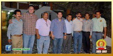 Reunión con el Presidente Municipal de Taxco de Alarcón