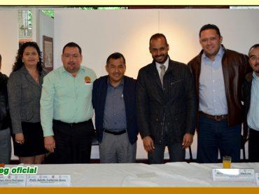 Visita a los trabajadores de la Representación del Gobierno del Estado de Guerrero en la Ciudad de México