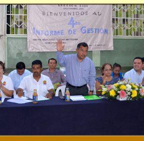 Cuarto Informe y Elección en la Sección LIII del SUSPEG.