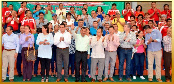 """Ceremonia de Inauguración de los Juegos Deportivos del """"72 Aniversario"""" de la fundación del SUSPEG."""