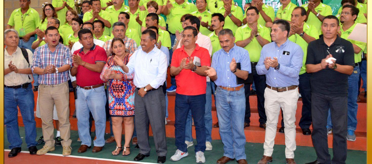 """Clausura de los Juegos Deportivos del """"72 Aniversario"""" de la Fundación del SUSPEG"""