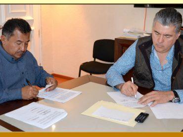 Firma del Convenio de Colaboración entre el Ayuntamiento de Chilpancingo y el SUSPEG.