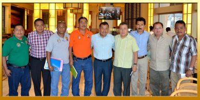 Reunión con el Director General de la Operadora de Playas.