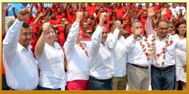 Asamblea Estatal y Toma de Protesta del Secretario General de la CNOP en el Estado de Guerrero.