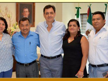 Reunión con el Magistrado Presidente del Poder Judicial del estado de Guerrero