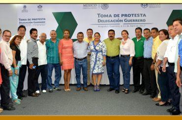 Toma de Protesta del nuevo Delegado del ISSSTE en el Estado de Guerrero.