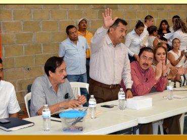 Reestructuración del Comité Ejecutivo de la Sección XXVIII del SUSPEG.