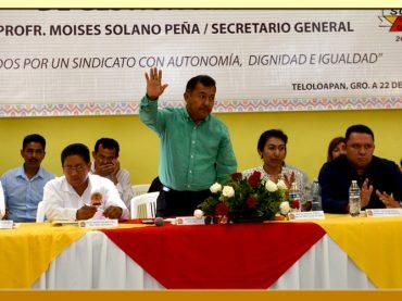 Primer Informe de Actividades del Secretario General de la Sección III del SUSPEG.