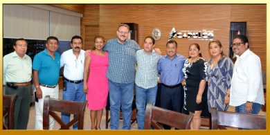 Reunión con el Presidente Municipal de Acapulco.