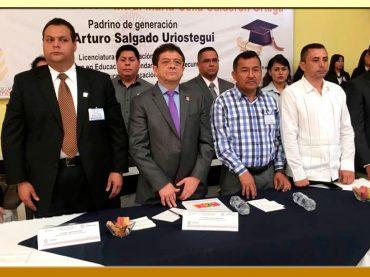 """Ceremonia de Graduación de la Escuela Normal """"Vicente Guerrero"""""""