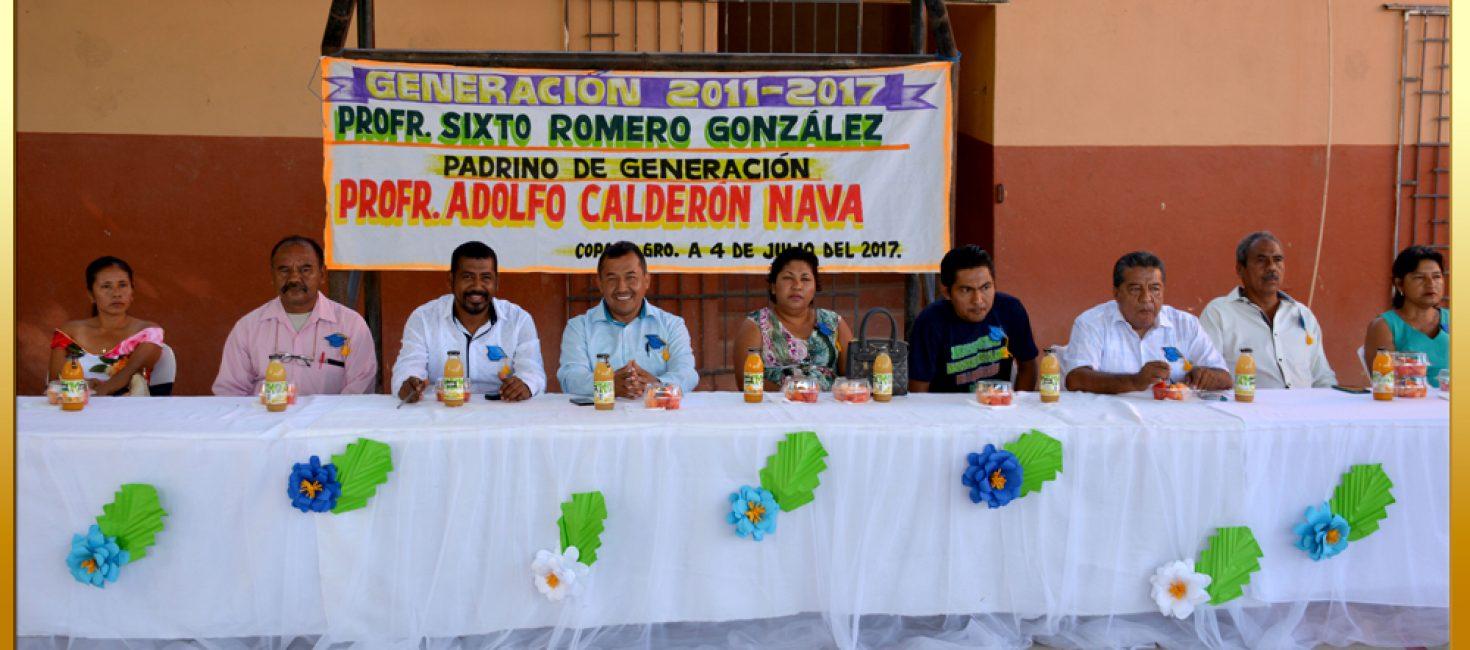 CLAUSURA DE LA ESCUELA PRIMARIA VESPERTINA MIGUEL HIDALGO Y COSTILLA, UBICADA EN COPALA
