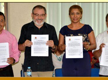 Firma del Convenio de Colaboración con la Universidad Americana de Acapulco