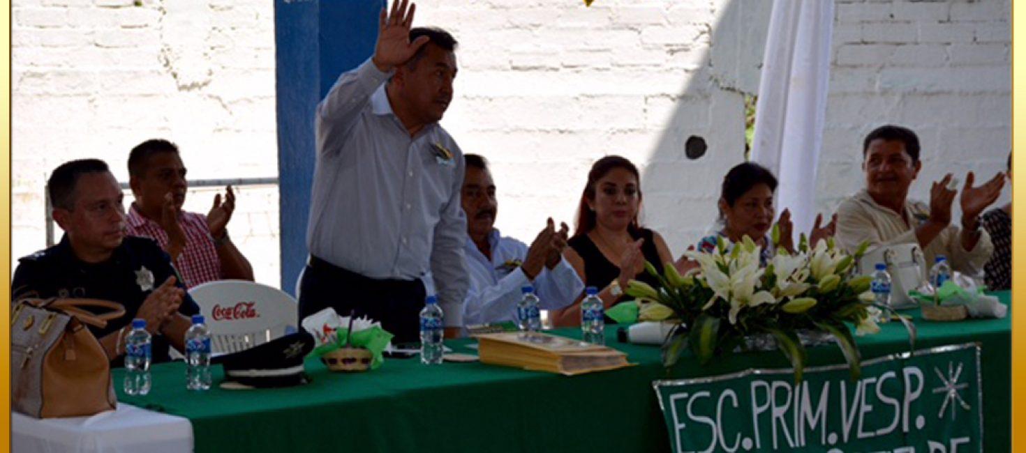 """Clausura de Fin de Curso en la Escuela Primaria Vespertina """"Josefa Ortiz de Domínguez."""