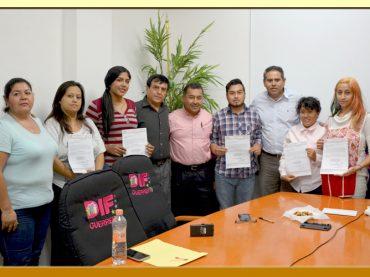 Entrega de Nombramientos a Trabajadores del DIF-Guerrero.