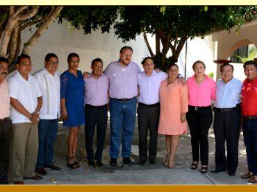 Reunión con el Presidente Municipal de Acapulco y el Director General del ISSSPEG.
