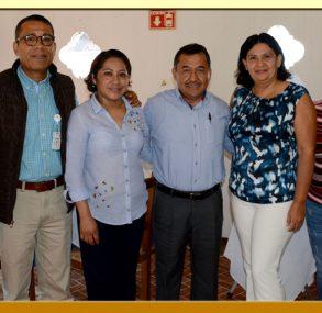 Reunión con el Director General del Hospital de la Madre y el Niño Guerrerense.