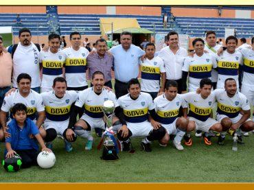 Premiación del Torneo de Futbol Soccer del Torneo del Servidor Público.