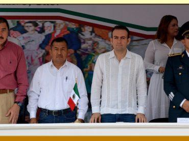 CEREMONIA OFICIAL Y DESFILE CIVICO-MILITAR DEL CCVII ANIVERSARIO DE LA PROCLAMACIÓN DE LA INDEPENDENCIA.