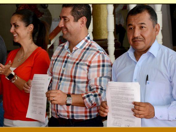 Firma de la Minuta de Acuerdos de las Prestaciones Laborales de los agremiados a la Sección XXXVI del SUSPEG.