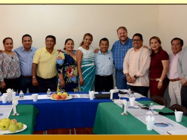 REUNION CON EL SECRETARIO DE FINANZAS DEL AYUNTAMIENTO DE ACAPULCO Y EL DIRECTOR GENERAL DEL ISSSPEG