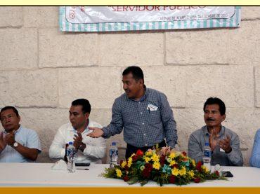 Festejo del Día del Servidor Público en la Sección XXXVIII del SUSPEG.