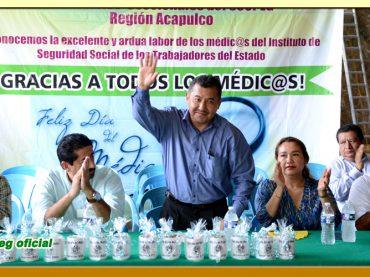 Festejo del Día del Médico.