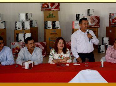 Festejo del día del Servidor Público en la Sección XLII del SUSPEG.