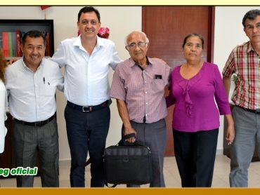 Reunión con el Magistrado Presidente del Tribunal Superior de Justicia del Estado de Guerrero.