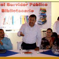 Festejo del Día del Servidor Público Bibliotecario de la Sección XXIX del SUSPEG.