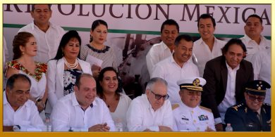 Ceremonia Oficial y Desfile Deportivo del CVII Aniversario del Inicio de la Revolución Mexicana.