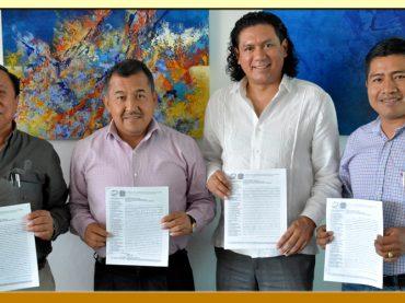 Entrega del Pliego Petitorio 2018 al Director General del Hospital de la Madre y el Niño Indígena Guerrerense.