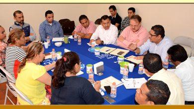 Reunión con el director General del ISSSPEG y el Secretario de Finanzas del Ayuntamiento de Acapulco.