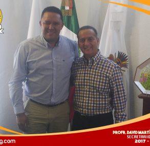 Reunión con el Secretario de Educación Guerrero.