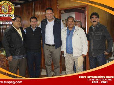 Realizando acciones conjuntas con el Gobierno Municipal de Taxco de Alarcón.