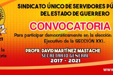CONVOCATORIA SECCIÓN XXI.
